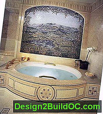 mosaico bagno padronale