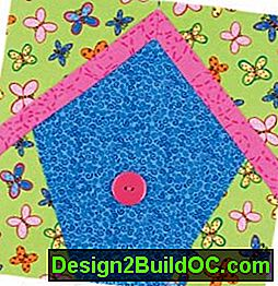 Bird House Quilted Wall Hanging Pattern: pattern