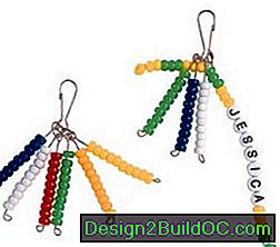 Kako narediti Beaded Zipper Pulls: pulls