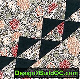 London Square Quilt Block: square