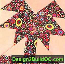 Palm Tree Quilt Block: tree