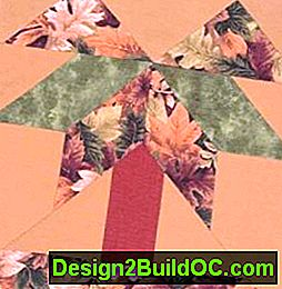 Palm Tree Quilt Block: quilt