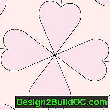 Sweet Clover Quilt Block: sweet