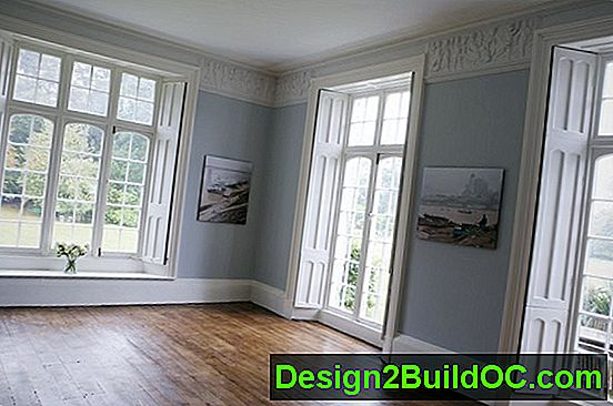 Painting Trim, Baseboards И Wainscoting
