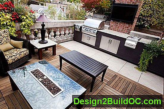 Backyard Renovation: Barbeque And Spa Area