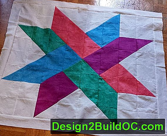 Twisted Star Quilt Block - Levevis