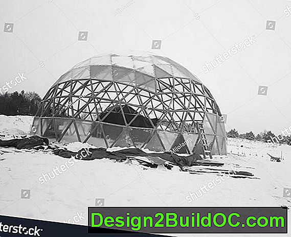 Winter Construction Dome