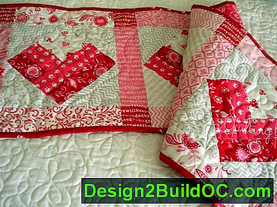Emily'S Heart Quilted Table Runner Pattern