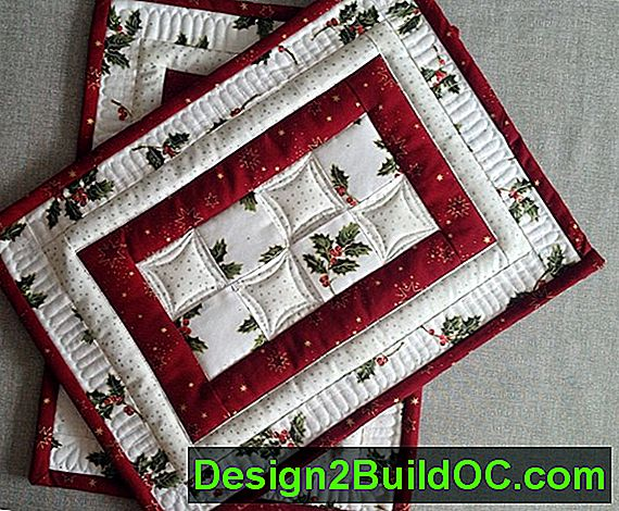 Fanfare Quilted Mantel Runner Pattern