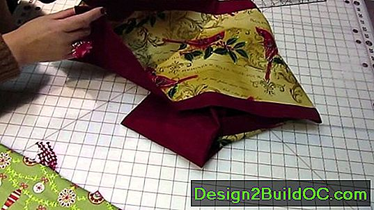 Jagged Edge Quilt Border Pattern