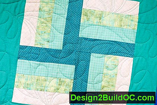 Quilt Block Rail Fence