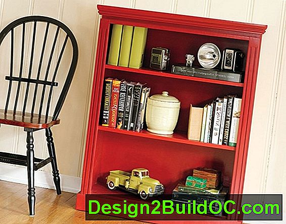 Inside Job: Bookcases With Color Pop