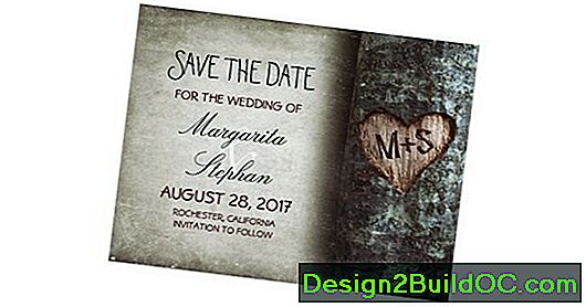 Save-The-Date Cards: Opzionale O Necessario? 2018