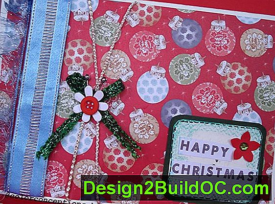 Happy Holidays Quilted Card Holder Pattern